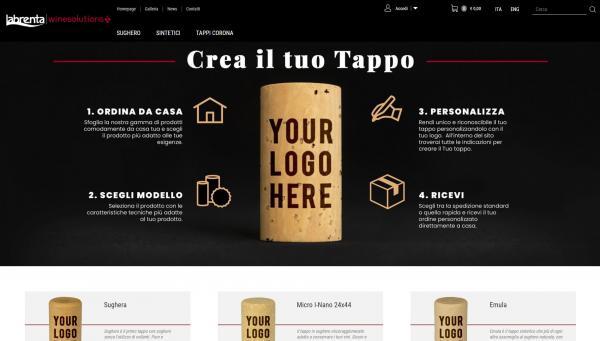 Home page immediata per facilitare l'acquisto da parte dell'utente